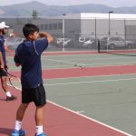 Logan Hands Irvington Tennis Its Second Loss of the Season