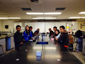 Chemistry Students Fill P-7 for Irvington Chemistry Bowl