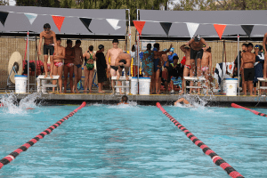 Irvington Races to a Draw with Logan Swimmers