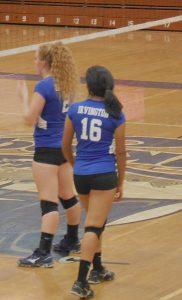 Lady Vikings varsity volleyball sweeps Lady Eagles on Senior Night