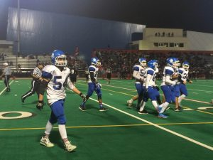 Irvington Varsity Football Loses to Logan in Final Game