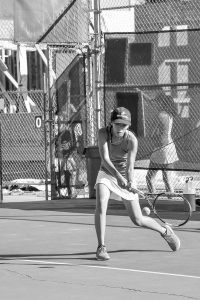 Girls' tennis season ends on high note