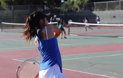 Girls' Varsity Tennis is victorious against Moreau
