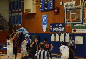 Irvington Boys' Varsity Volleyball triumphs over Kennedy