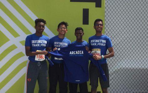 IHS Track boys relay to Arcadia