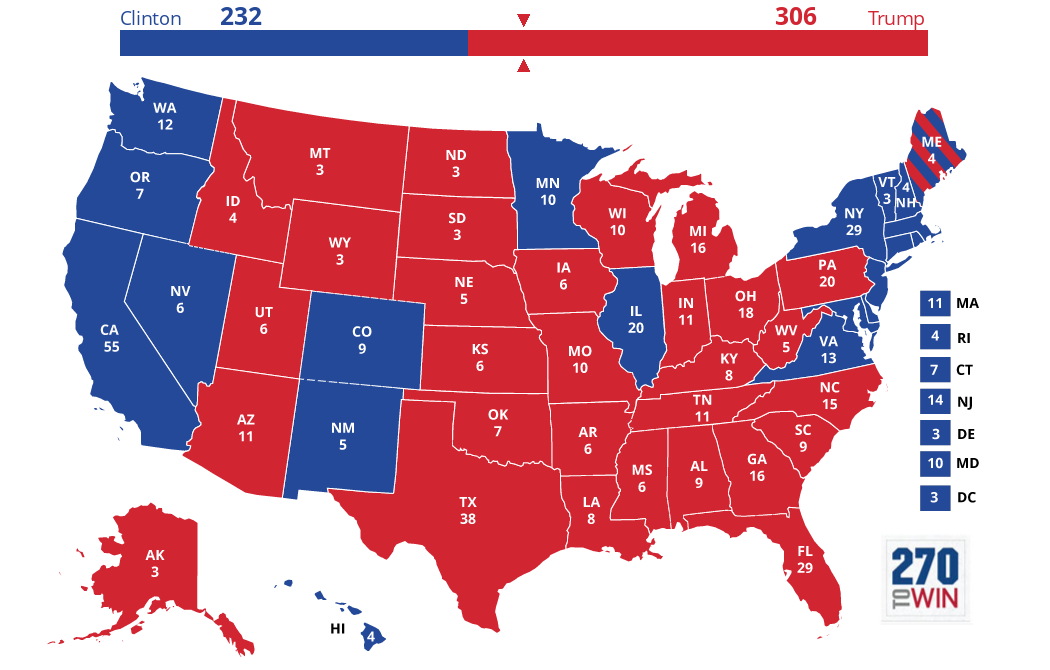 The+graphic+displays+how+the+electoral+votes+are+divided+among+states+and+districts.++