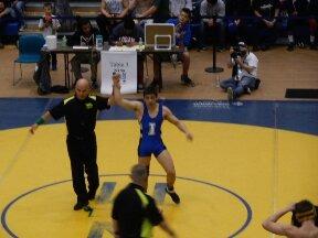 IHS Viking Wrestlers Make School History at 2014 NCS Finals