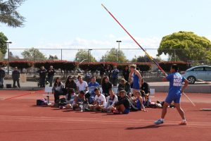 Track and Field Competes In First Tri-Meet