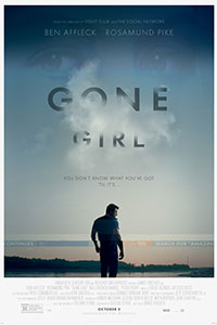 Cover picture for the Gone Girl movie. Movie Rating: 5/10 Photo Credit: http://www.cinemark.com/gone-girl