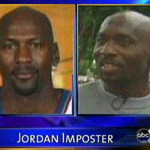Heckard had the same shaved head and piercing as Jordan but was 6 inches shorter (Photo: ABC News).