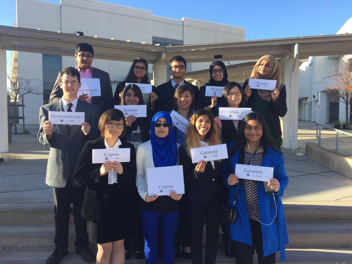 Irvington's delegates represented a multitude of countries (Photo: Zainab Khan).