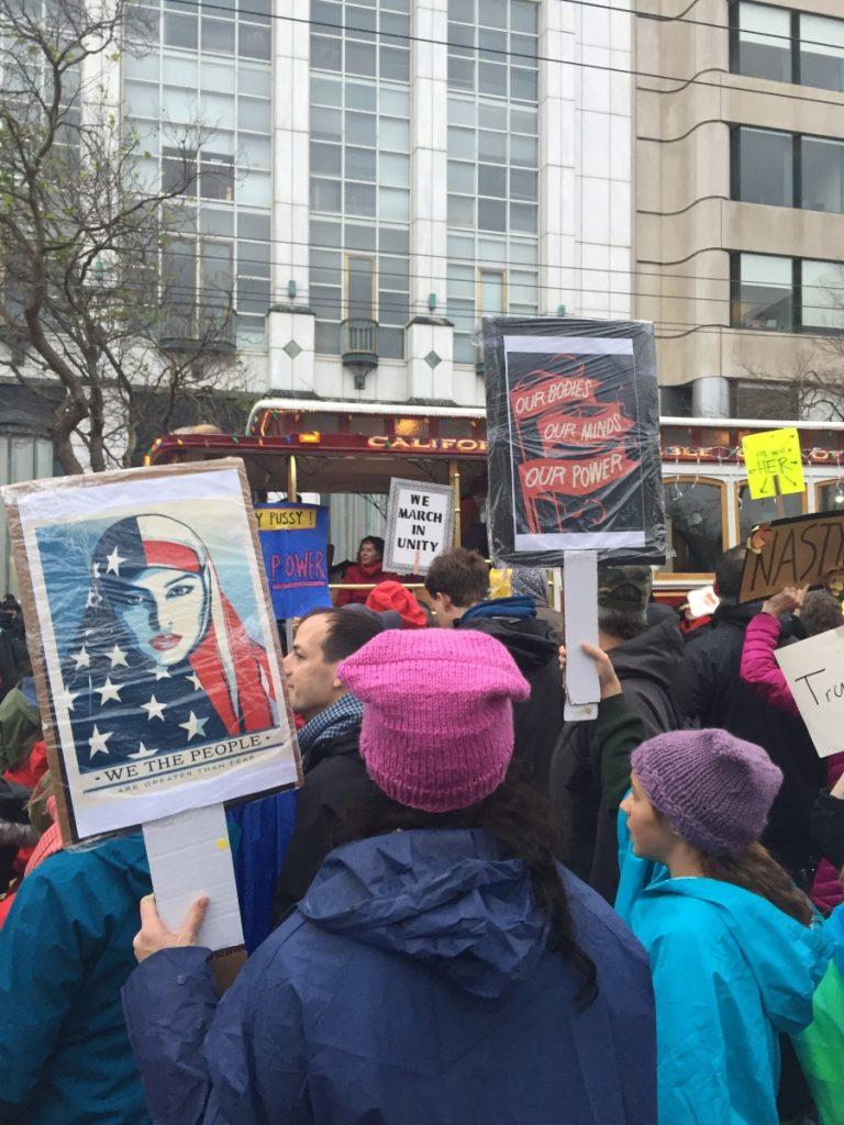 San Francisco Women's March on Washington draws huge crowds
