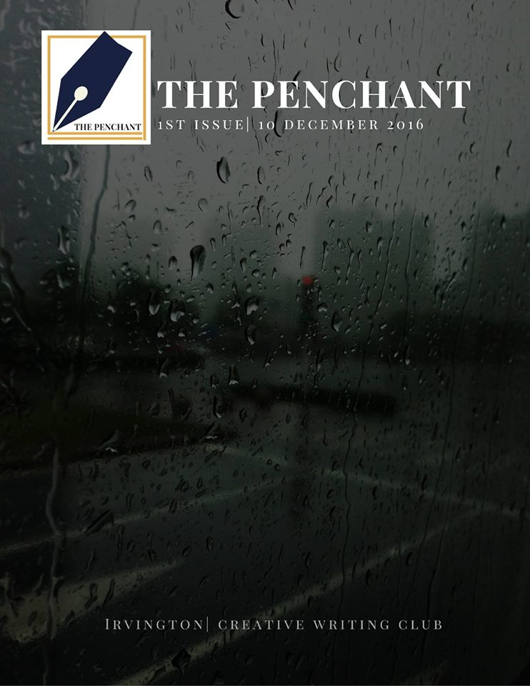 Published by Creative Writing Club, the first issue of The Penchant was designed by sophomore Lily Yang, club president.
