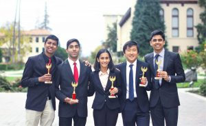 Sampreeth Moturi (12) and Rachit Pareek (11) as well as William Yoo (11) and Rishabh Meswani (12) were octo finalists in Parliamentary Open, meaning that they placed in the top 16. Akanksha Jain (12) was also an octofinalist in Lincoln-Douglas Open.