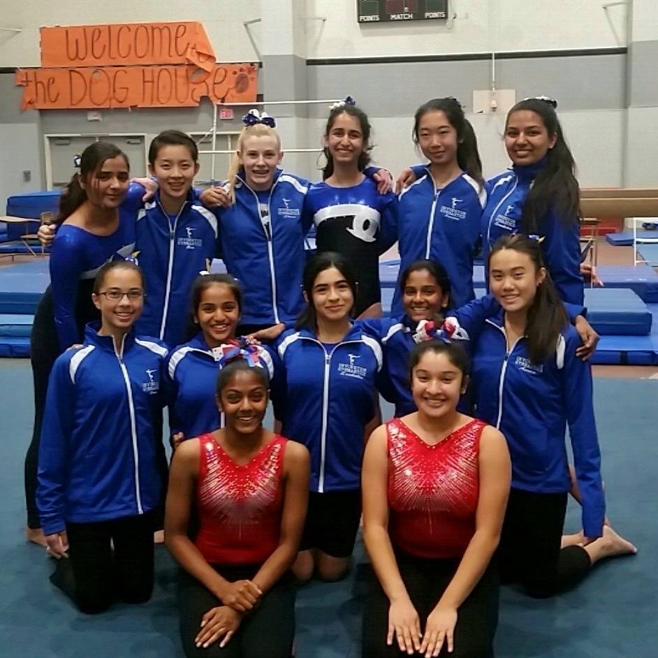 Finals took place at Washington High School, where the gymnastics team took first place.