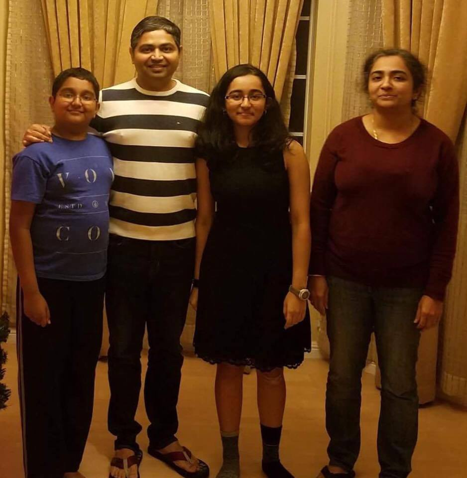 Junior Neha Bashyam's parents, Renga Srinivas and Lakshmi Gopalakrishnan, came to the United States on the H-1B visa in search for better job opportunities and education for their children. They both became citizens of the United States in 2006. (Photo: Koushik Sundar)