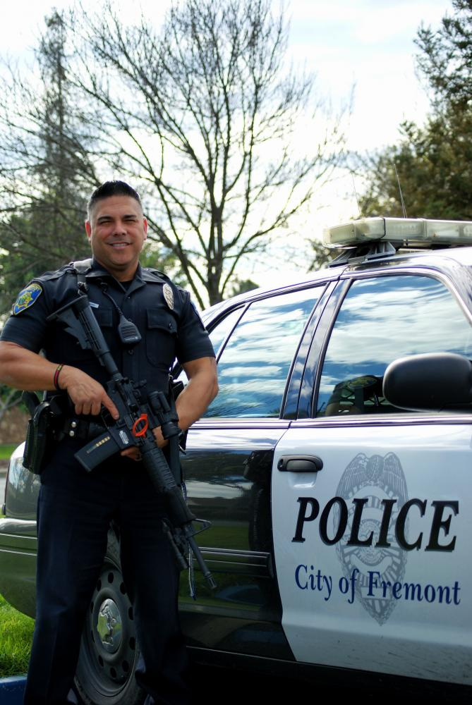 Officer Luevano worked as a hostage negotiator for eight years in the Fremont Police Department as well as in an undercover unit for a few years.