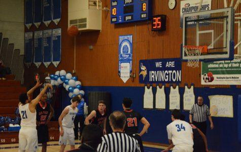 Logan takes Irvington by storm