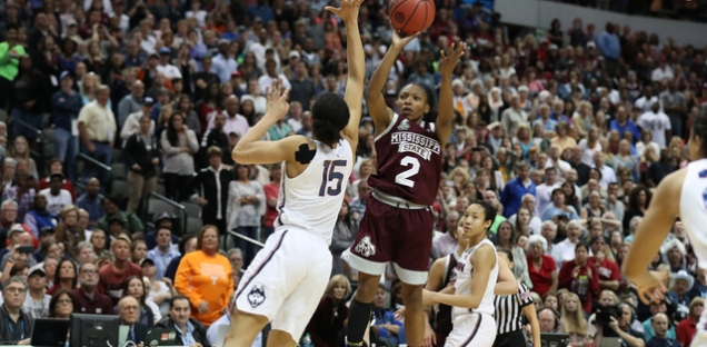 Mississippi States' victory over UConn in the final four of the Womens' NCAA March Madness Championship was one of the biggest upsets of tournament.