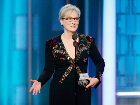 After winning a Golden Globe for Best Performance by an Actress in a Motion Picture - Musical or Comedy for her film Florence Foster Jenkins, Meryl Streep devoted a large portion of ter acceptance speech to talk about her views about the now President Donald Trump.