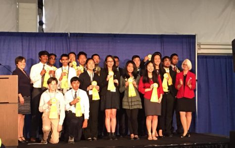 Irvington students compete and place at Synopsys Science Fai