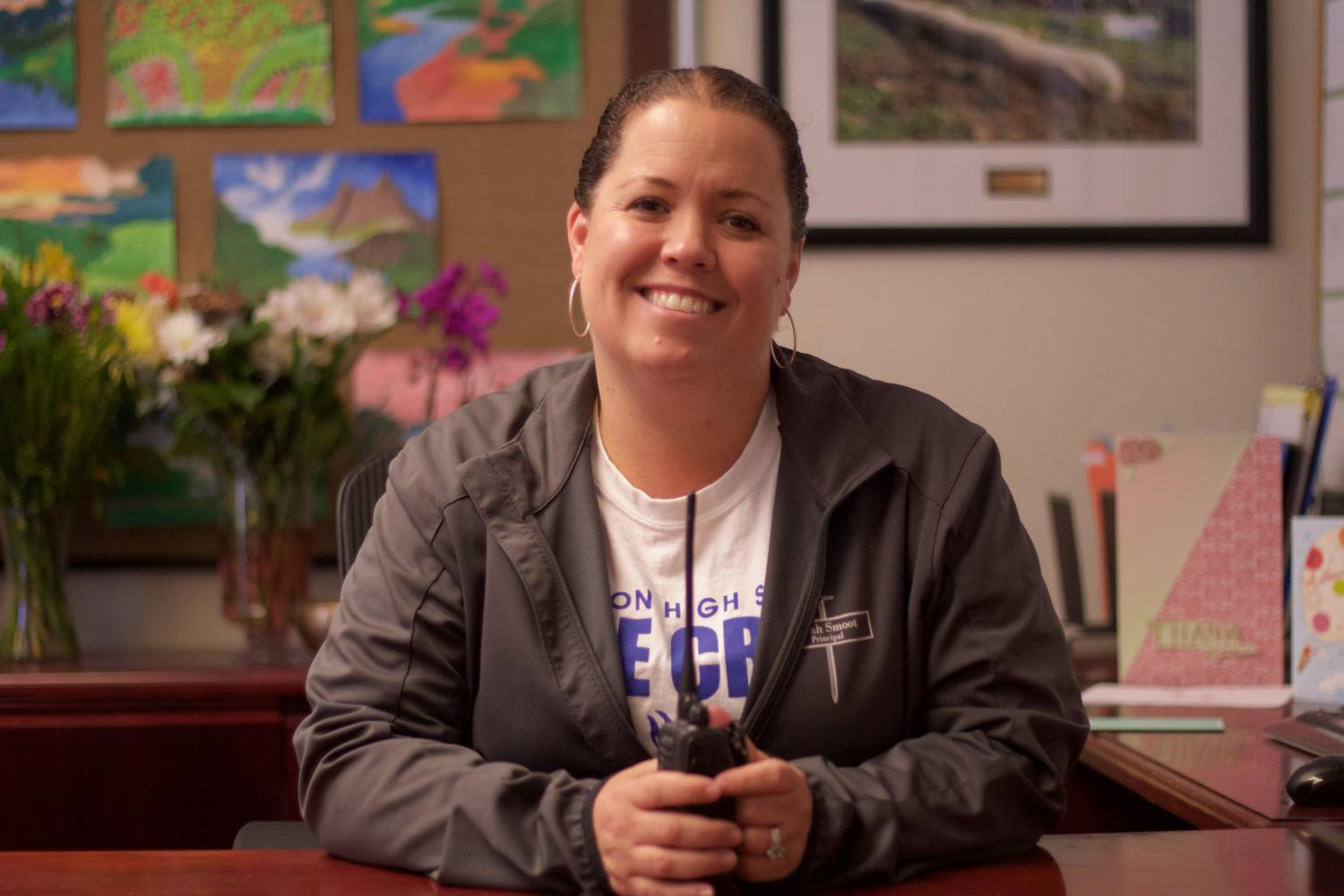 After serving six years as Irvington's Principal, Ms. Barrious leaves behind a legacy and will be succeeded by Interim Principal Dr. Carol Halbe.