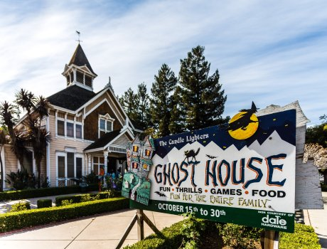 Oct. 22, 2016. 48 years, Candle Lighters Ghost House, Oct. 15-30, 2016 at the Carriage House, Fremont Hub. This years theme is
