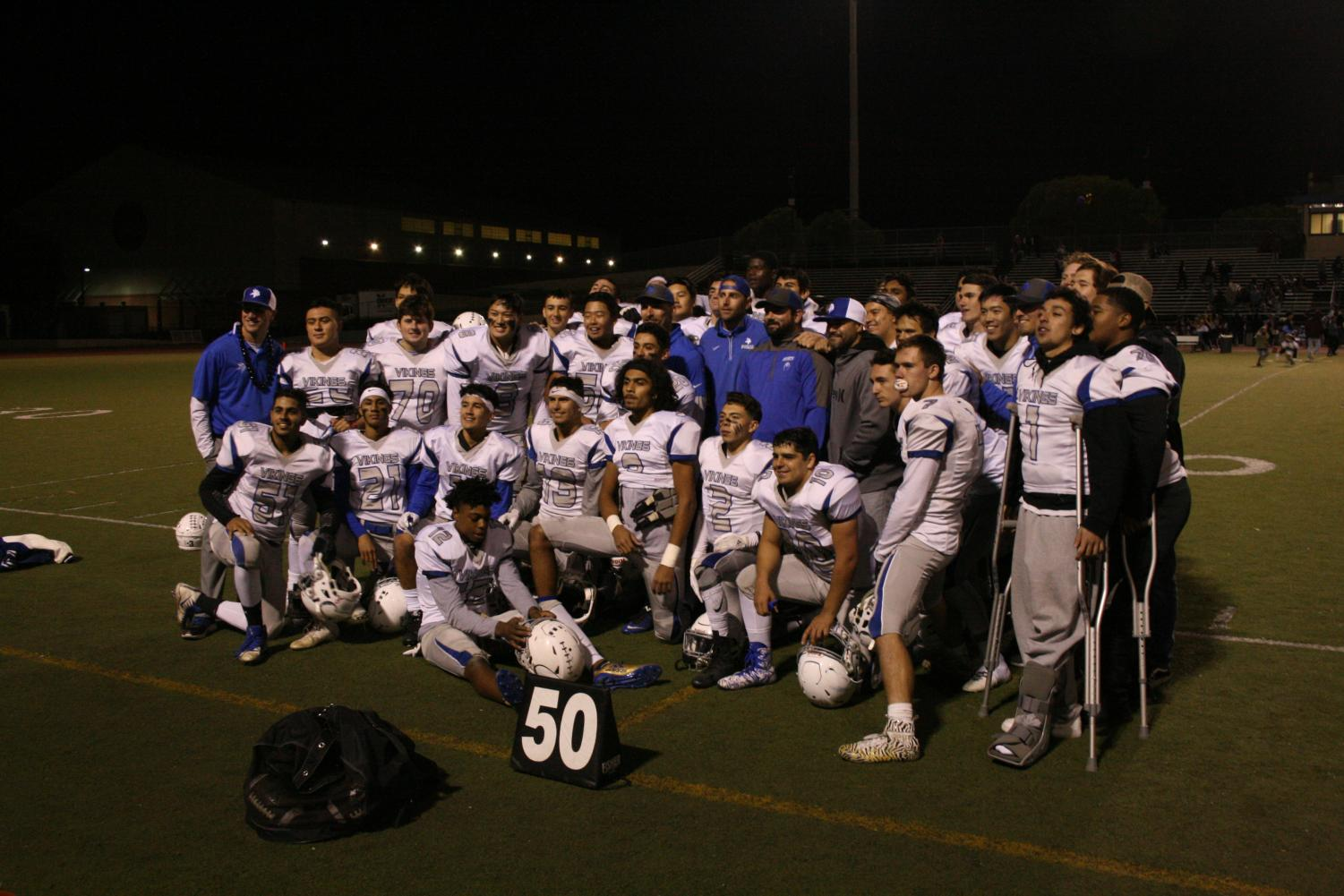 After a stunning victory at the last game of the regular season at TAK, Varsity will continue in the NCS Division 1 playoffs.