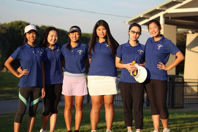 Irvington%E2%80%99s+Girls%E2%80%99+Golf+Team+ranked+second+in+MVAL+this+season.+