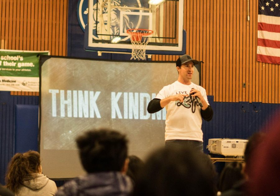 AftertheassemblyE28099ssuccessin The Voice Kindness Assembly Sparks