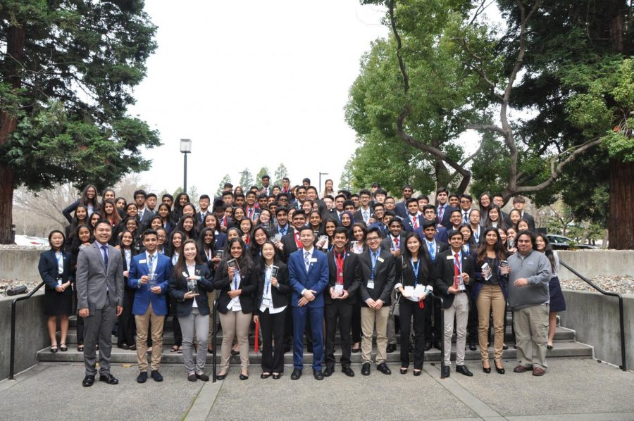 The+Irvington+DECA+chapter+had+the+most+members+at+the+NorCal+Career+Development+Conference.+