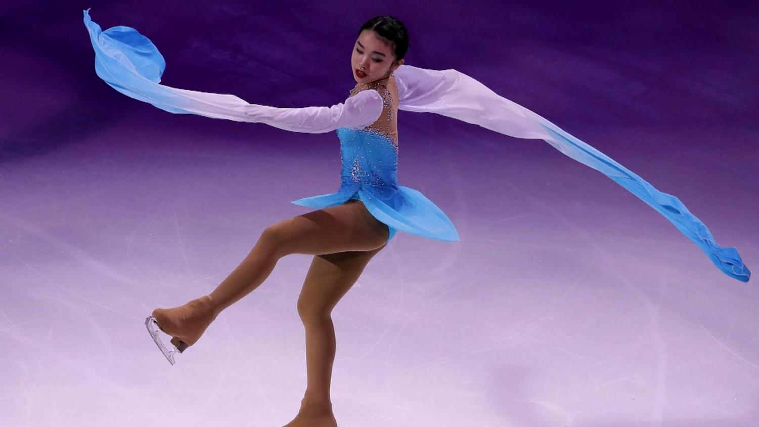 Karen Chen, a figure skater from Fremont, is set to compete in the 2018 Winter Olympics.