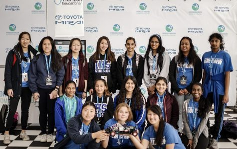 Girls in STEM Advance to State Finals in Hydrogen Horizon Car Competition