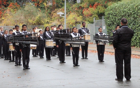 JV Marching Band finishes off second season