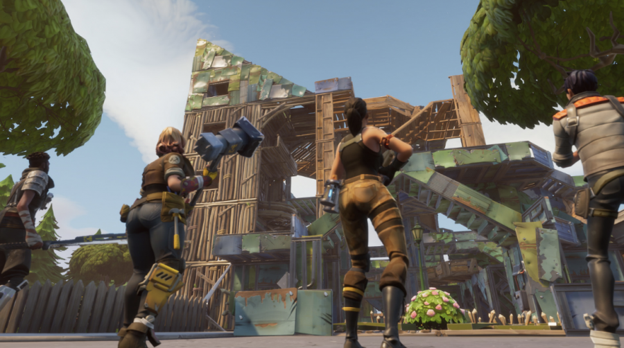 Fortnite+introduces+the+aspect+of+building%2C+while+still+being+able+to+kill+players%2C+in+the+battle+royale+format.