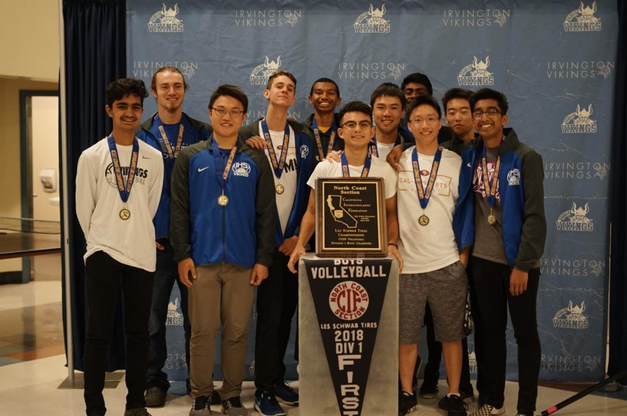 The varsity boys' team ranked #42 in the state and #86 nationally. (Annika Yong)