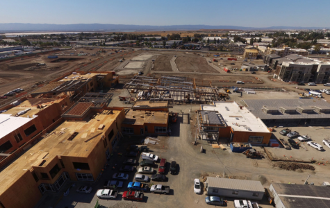 Construction of neighborhoods and school in Warm Springs area