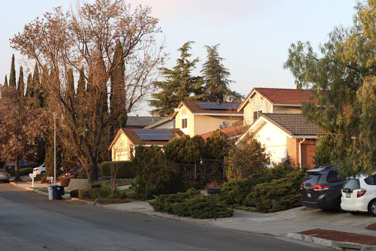 A Fremont neighborhood where rent prices exceed $3,000 per month.