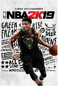 Giannis Antetokounmpo, one of the leading candidates in the MVP race, is this year's NBA 2K19 cover.