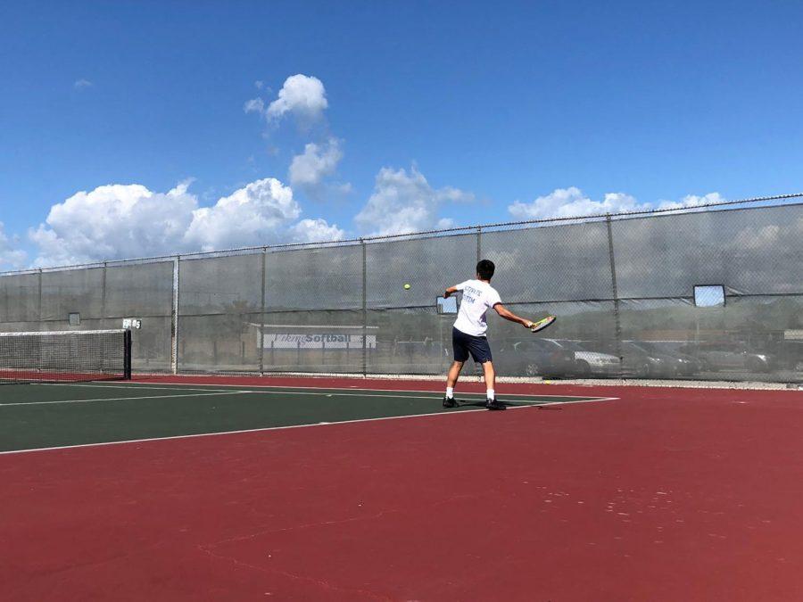 Boys%E2%80%99+Tennis+Serves+an+Ace