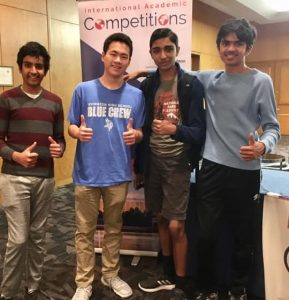 Ecstatic IHS students compete in Code Quest