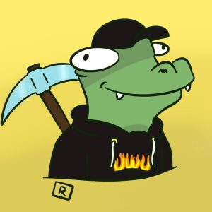 One of Francesca's fans created a unique fan art for ReptileLegit, which is now her YouTube icon.