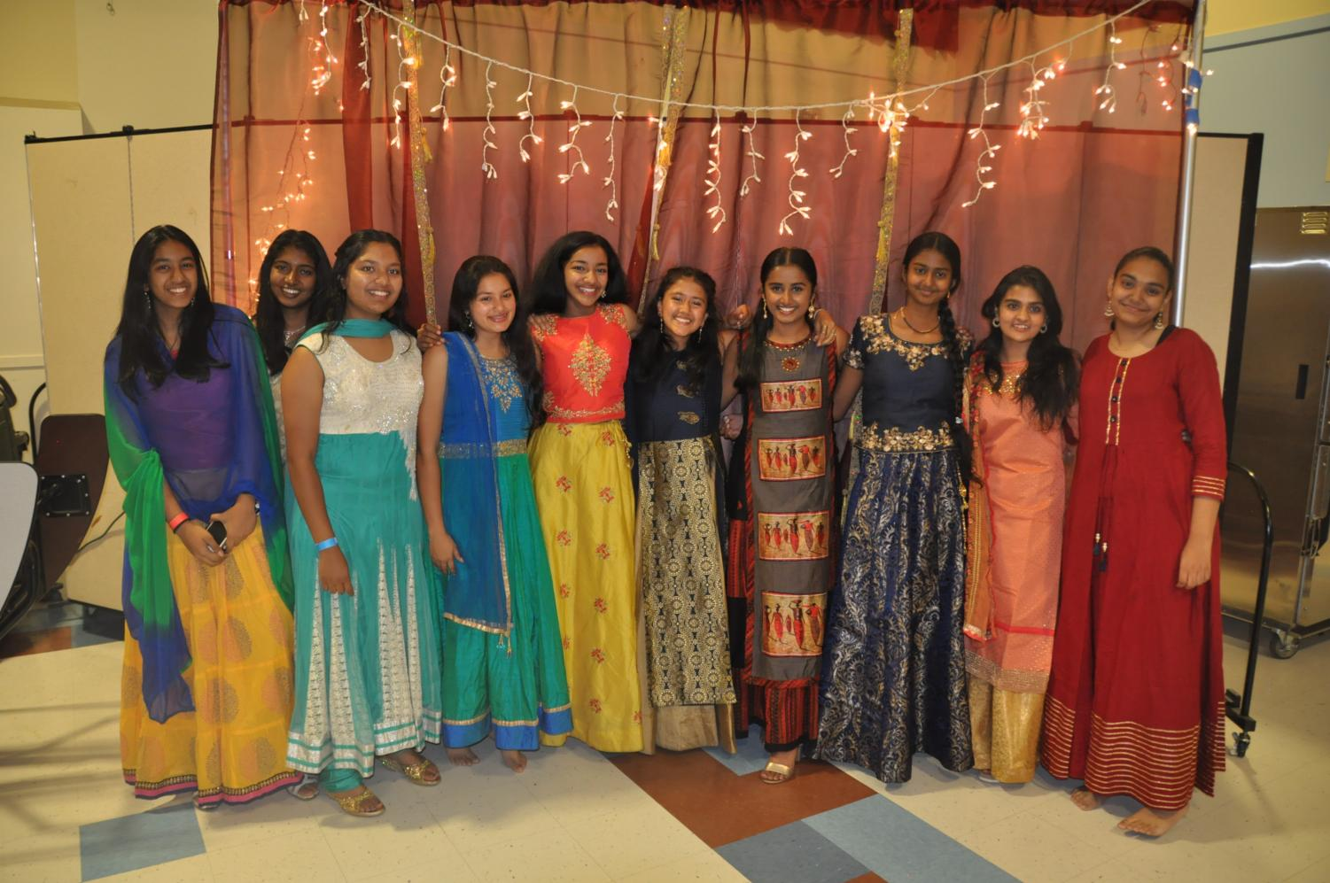 Irvington students came together in a celebration of Indian culture.