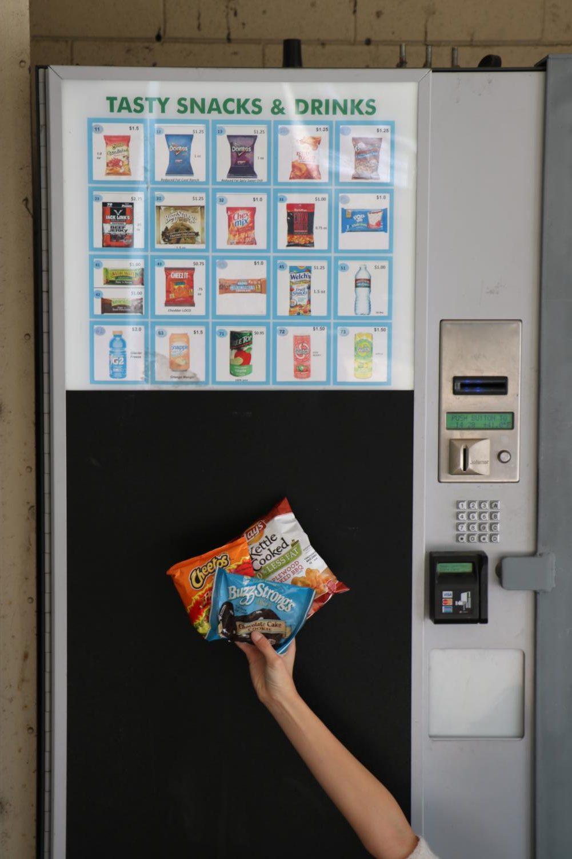 Munchie Madness: Irvington's Vending Machines