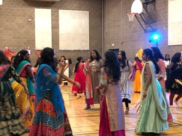 Dandiya Night Proven to be a Huge Success