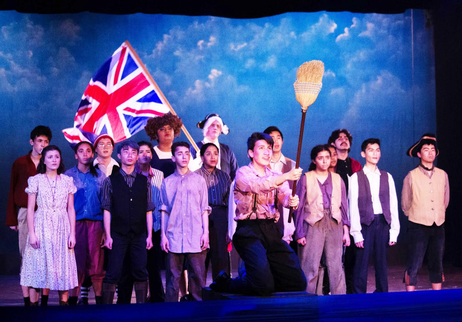 Peter and the Starcatcher had several musical numbers, a unique ad- dition that makes it different from other plays that ICT has produced.