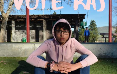 Candidate Raj Raghuwanshi