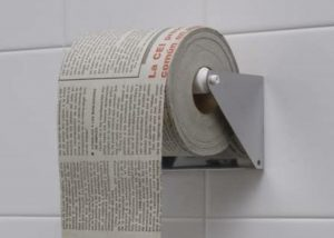 Attention! We have a solution to the toilet paper epidemic!