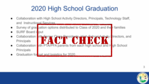 Fact Check: FUSD Class of '20 High School Graduation