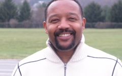 Brain Walton splits his time as Assistant Principal between Irvington High School and Horner Junior High.